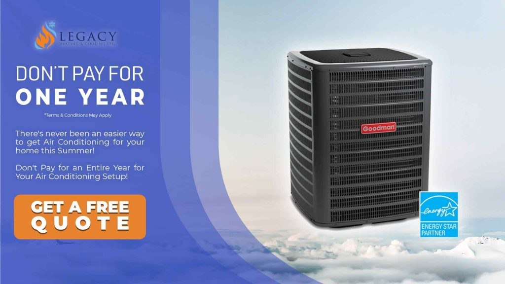 central air conditioning edmonton
