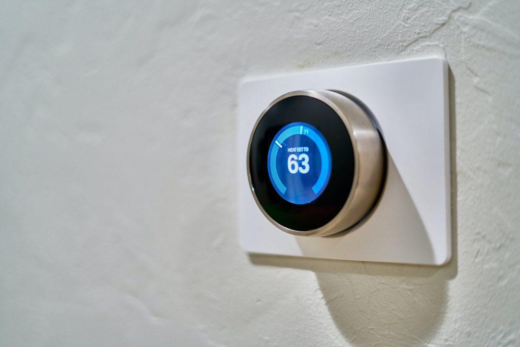 temperature control knob